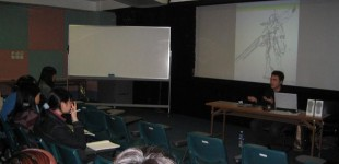 Hong Kong Baptist University<span> - Mr. Kwai Bun's animation lecture with undergrad students</span>